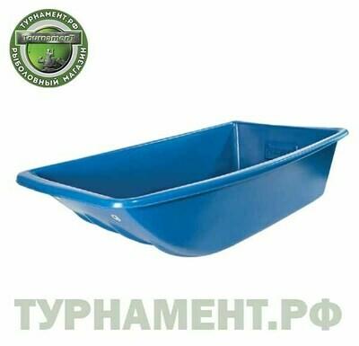 Сани-волокуши для рыболовов и охотников (1200*540*290) (синий)