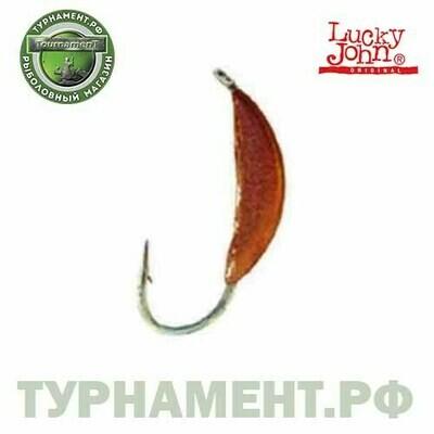 Мормышка вольф. Lucky John БАНАН с петел. 025/C