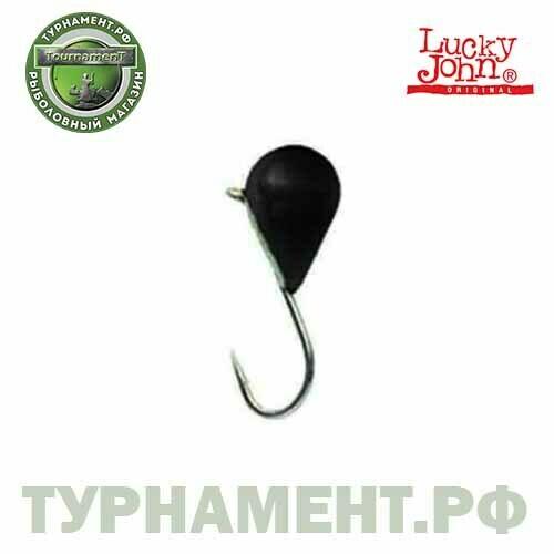 Мормышка вольф. Lucky John КАПЛЯ с петел. 030/B