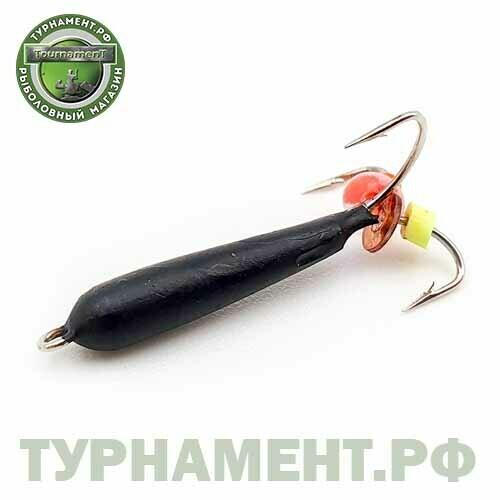 Мормышка EXPERT PRO вольфрам черт d1,5мм высокий черный (149)