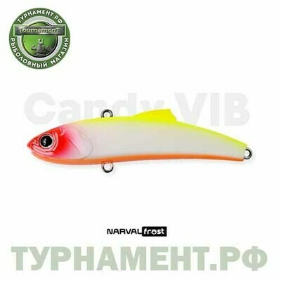 Раттлин Narval Frost Candy Vib 70mm 14g цвет 003-Clown
