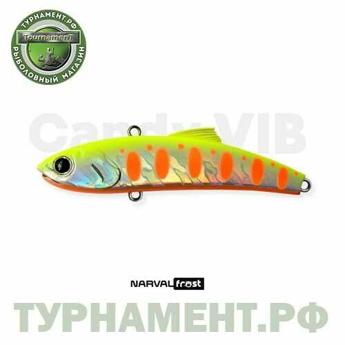 Narval Frost Candy Vib 70mm 14g #006-Motley Fish