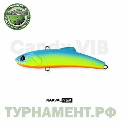 Narval Frost Candy Vib 70mm 14g #004-Blue Back Chartreuse