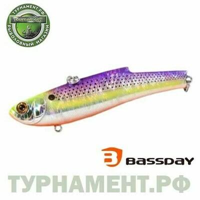 Воблер Bassday RANGE VIB 55ES FL-410 (тип: ратлин, плавучесть: тонущий, длина: 5,5см., вес: 10г.)