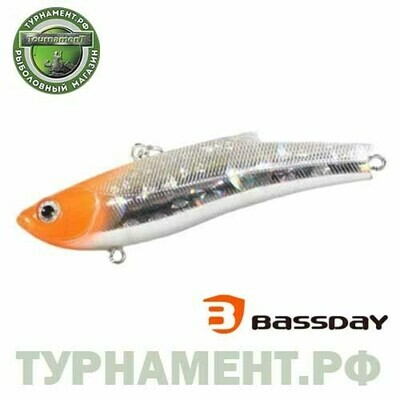 Воблер Bassday RANGE VIB 55ES RD-411 (тип: ратлин, плавучесть: тонущий, длина: 5,5см., вес: 10г.)
