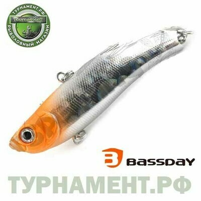 Воблер Bassday RANGE VIB 55TG (TUNGSTEN) RD-411 (тип: ратлин, плавучесть: тонущий, длина: 5,5см., вес: 14,5г.)