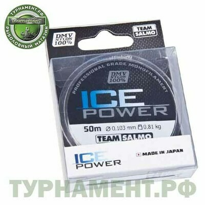 Леска моно. Team Salmo ICE POWER 050/010