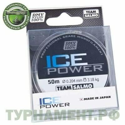 Леска моно. Team Salmo ICE POWER 050/020