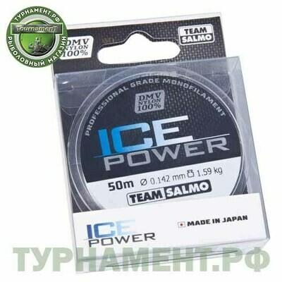 Леска моно. Team Salmo ICE POWER 050/014