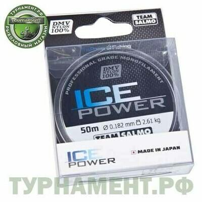 Леска моно. Team Salmo ICE POWER 050/018