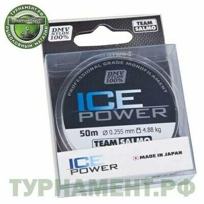 Леска моно. Team Salmo ICE POWER 050/025