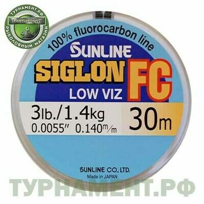 Флюрокарбоновая леска Sunline SIGLON FC 0,280