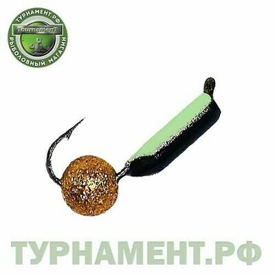 Мормышка EXPERT PRO вольфрам Столбик d2мм с фосф.+звезд.пыль (362)