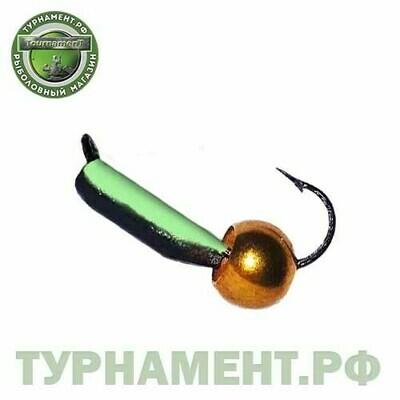 Мормышка EXPERT PRO вольфрам Столбик d3мм с фосф.+лат.шар. (361)