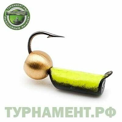Мормышка EXPERT PRO вольфрам Столбик d3мм флуоросц.лат шар. (380)