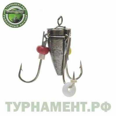 Мормышка вольф Рыбачок Ведьма с ушк. d5 серебро