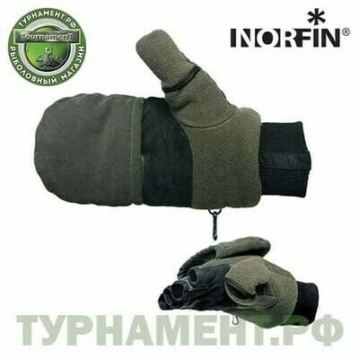 Перчатки-варежки Norfin MAGNET отстегивающиеся с магнит. р.L
