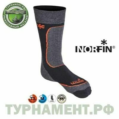 Носки Norfin T3M NORDIC MERINO MIDWEIGHT р.(42-44) L
