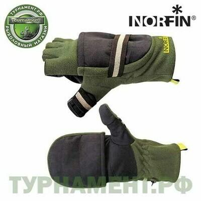 Перчатки-варежки Norfin NORD отстегивающиеся р.XL