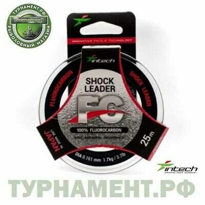 Флюорокарбон Intech FC Shock Leader 25м 0,141мм