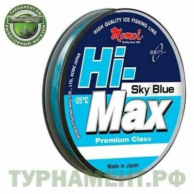 Леска Momoi Hi-Max Winter Sky Blue 30м 0,12мм, 1,6кг