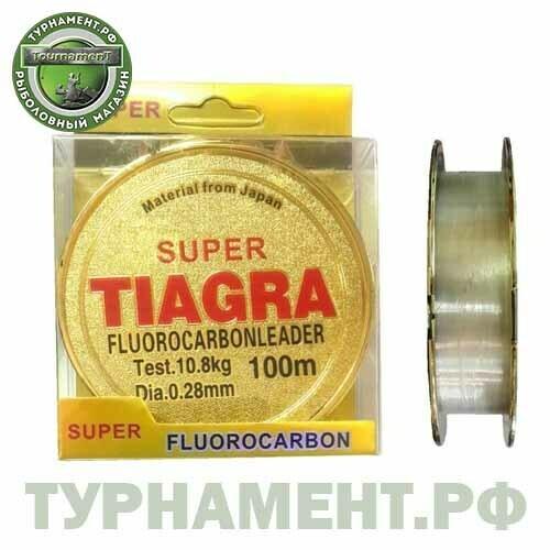 Леска TIAGRA 100м, 0,25мм, 11,5кг