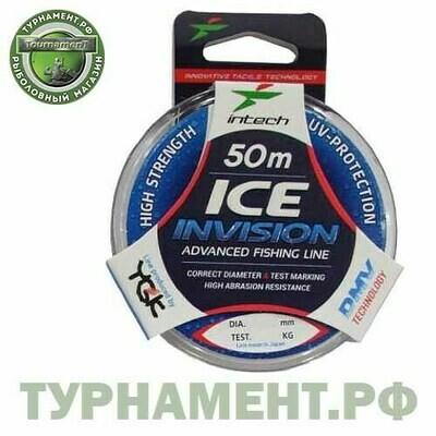 ЛЕСКА INTECH INVISION ICE LINE 50M 0,14