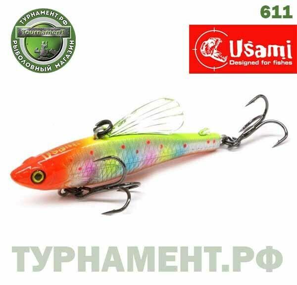 Раттлин Usami Bigfin 60S, 12 гр, цвет 611
