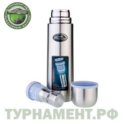Термос BIOSTAL Классика NB-1000Z, пробка с ситечком, 1л