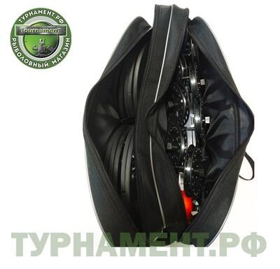 Набор жерлиц RodStars в сумке 10 шт, алюминиевая стойка, катушка 90 мм (оснащенные)
