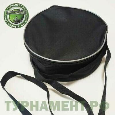 Набор жерлиц RodStars в сумке 5шт, пластиковая стойка, катушка 90 мм. (оснащенные)