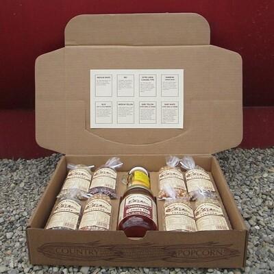 Amish Country  Popcorn 4 oz Popcorn Gift Box