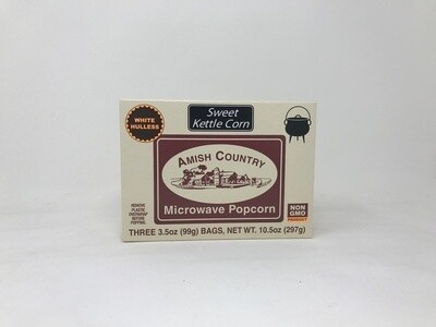 Amish Country Popcorn - Microwave Kettle 3Ct.