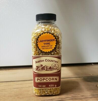 Amish Country Popcorn - Ladyfinger  14 oz.