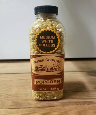 14oz. Bottles of Medium White Popcorn