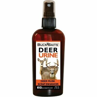 Buck Baits Deer Musk Scrape Enhancer  4 oz. With Sprayer