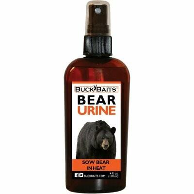 Buck Baist Sow In Heat Bear 4 oz. With Sprayer
