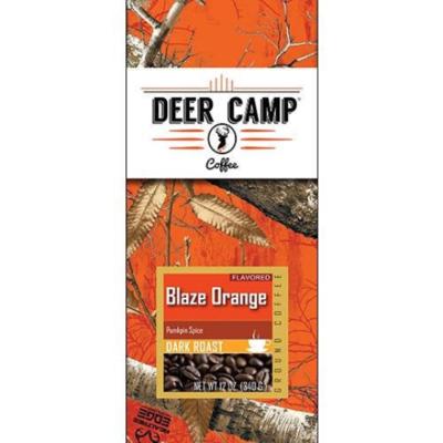 DEER CAMP COFFEE BLAZE ORANGE  12 oz. Pumpkin Spize Ground