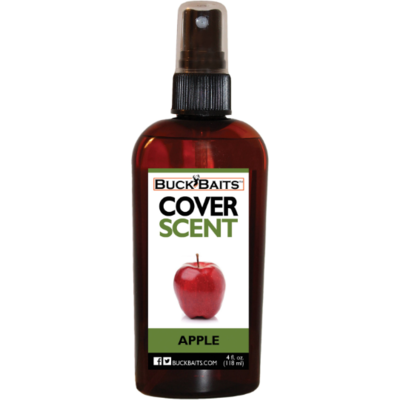 Buck Baits Apple Cover Scent 4 oz. With Sprayer