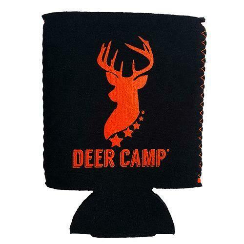 DEER CAMP Can Cooler - Black