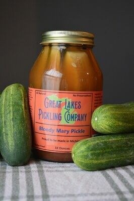 Great Lakes Pickling - Bloody Mary Spears 32 oz.