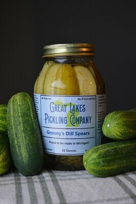 Great Lakes Pickling - Granny Dill Spears 32 Oz.