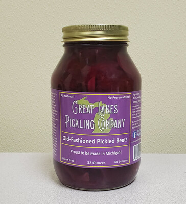 Great Lakes Pickling - Sweet Beets 32 oz.