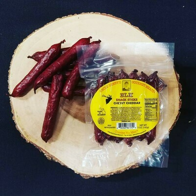 Uncle Henry Snack Sticks - Elk Cherry Cheddar