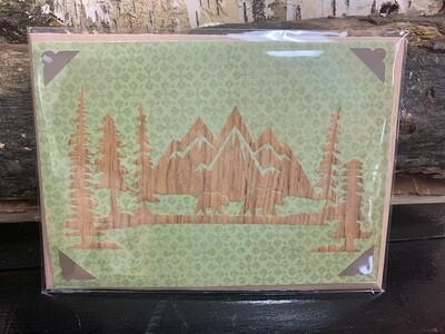 Bear Camp Site  Greeting Card