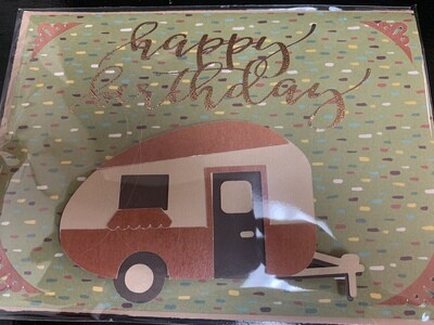Birthday - Camper Greeting Card