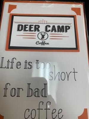 Deer Camp Logo Card