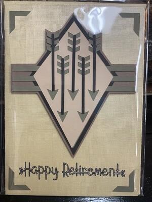 Retirement Arrows  Card