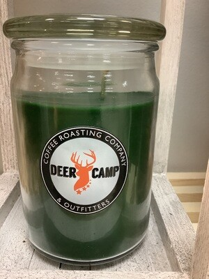 Deer Camp Candle - Green