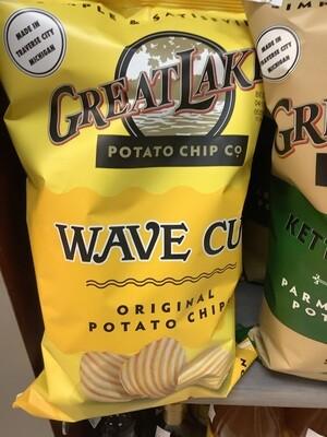 Great Lakes Potato Chip Co  Wave 8 Oz.